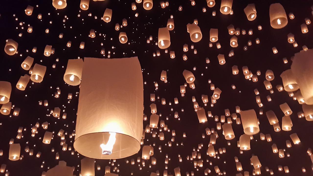 Festival de las Linternas: Feliz Loy Krathong